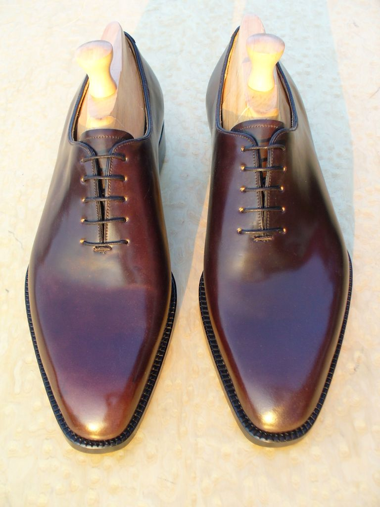 The ideal shell cordovan shoe styleforum for The alden